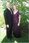 Mike & Lisa dressed for 'Gala' 2005