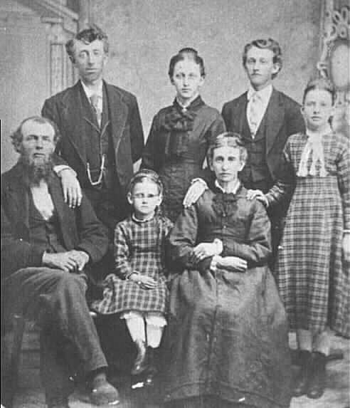 William Crittenden Gracey and  family